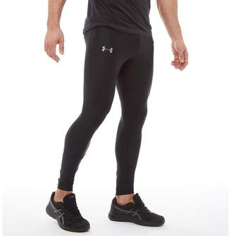 8d70e1f0b0 Under Armour Mens HG HeatGear Run True Tight Leggings Black/Black/Reflective