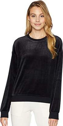 Juicy Couture Black Label Women's Lightweight Velour Paradise Cove Pullover