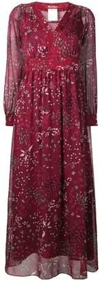 Max Mara long floral print dress
