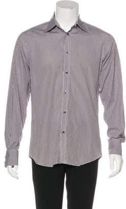 DSQUARED2 Striped Button-Up Shirt