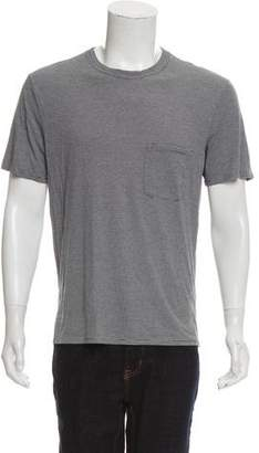 Maison Margiela Stripped Crew Neck T-Shirt
