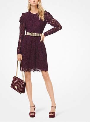 Michael Kors Corded Floral Lace Dress