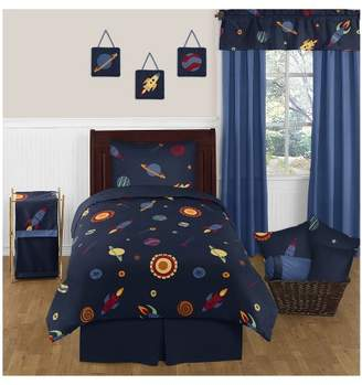 JoJo Designs Sweet Navy Space Galaxy Comforter Set (Twin) - Sweet