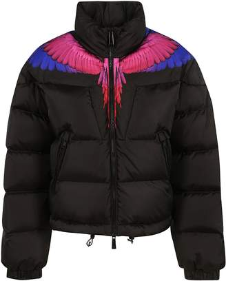 Marcelo Burlon County of Milan Zip-up Padded Jacket