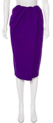 Ter Et Bantine Draped Knee-Length Skirt w/ Tags