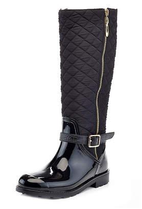 bf4cc332eab0 HENRY FERRERA Henry Ferrera Womens Omg 100 Rain Boots Water Resistant Flat  Heel Zip