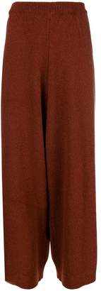 Christian Wijnants knitted wide leg trousers