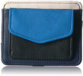 Nautica Sail Patch Rfid Criss Cross Card Case Holder Credit Card Holder