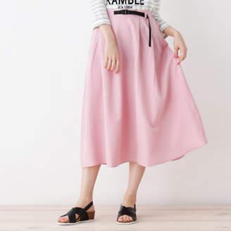 SHOO・LA・RUE/Cutie Blonde テープベルト付き ミディスカート