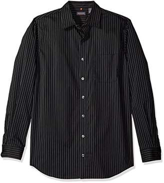 Van Heusen Men's Size Big and Tall Traveler Stretch Non Iron Long Sleeve Shirt
