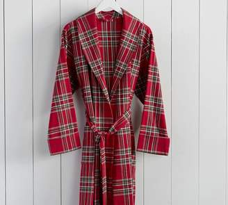 Pottery Barn Walton Plaid Men's Robe