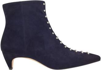 Nwwts Zyrannia Pointy Toe Studded Booties