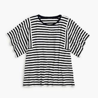 J.Crew Mixed stripe T-shirt