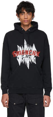 Givenchy Black Snake Print Hoodie