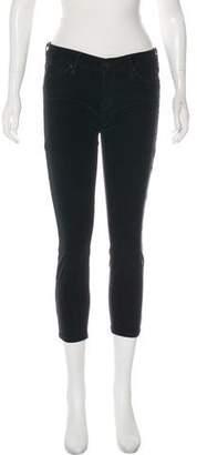 Mother Corduroy Skinny Pants