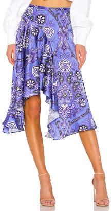 Caroline Constas Flounce Skirt