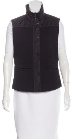 ChanelChanel Reversible Quilted Vest