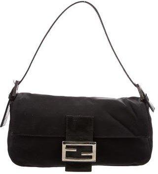 Fendi Woven Baguette Bag