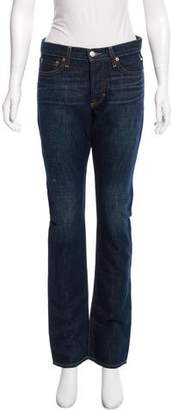 Vince Mid-Rise Straight-Leg Jeans w/ Tags