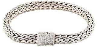 John Hardy Diamond Medium Classic Chain Bracelet