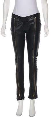 Camilla And Marc Low-Rise Leather Pants