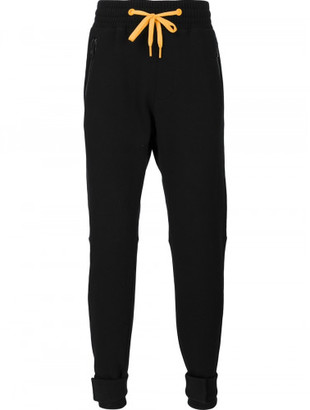 Moncler Moncler x Off-White contrast drawstring trackpants $755 thestylecure.com