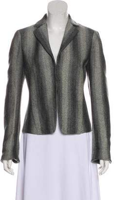 Akris Punto Wool Knit Blazer