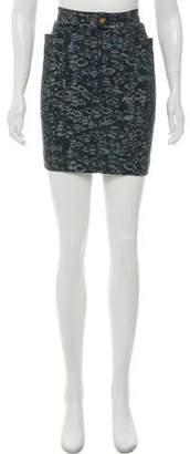 Acne Studios Printed Mini Skirt