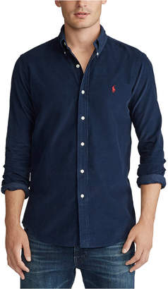 Polo Ralph Lauren Men Big & Tall Wale Corduroy Sport Shirt