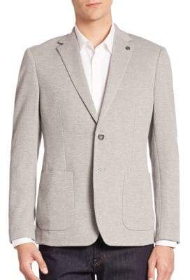 Michael Kors Slim Pique Knit Blazer