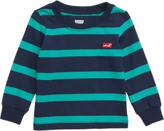 Levi's Striped Long Sleeve T-Shirt