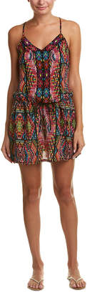 Nanette Lepore Mayan Mosaic Cover-Up Dress
