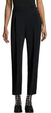 3.1 Phillip Lim Pleated High Twist Crepe Tailored Pants