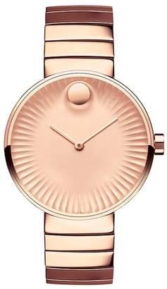 Movado Women's Edge Swiss Quartz Bracelet Watch, 34mm
