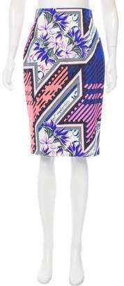 Mary Katrantzou Printed Knee-Length Skirt w/ Tags
