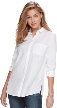 Apt. 9 Women's Poplin Shirt