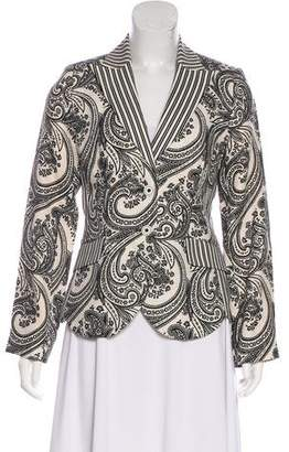 Etro Printed Structured Blazer