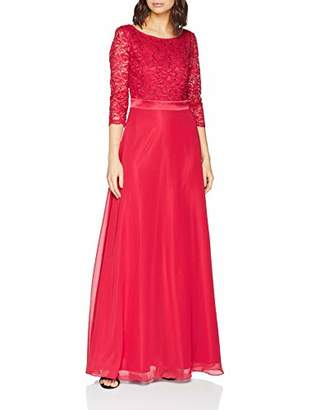 Vera Mont Women's 0090/4825 Party Dress, (Persian Pink 4286), (Size: 44)