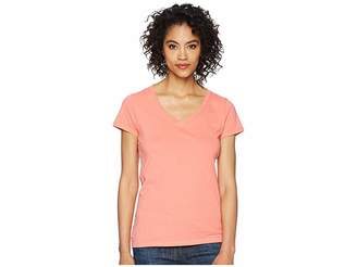 U.S. Polo Assn. Solid V-Neck Tee Women's Short Sleeve Pullover