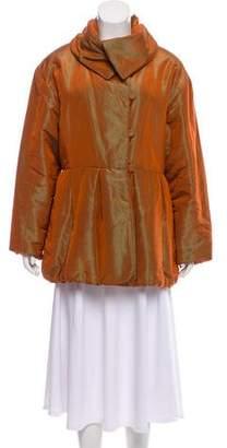 Hermès Silk Puffer Jacket