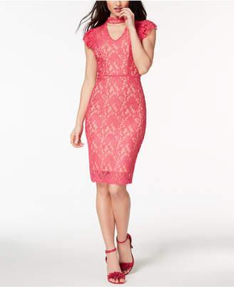 XOXO Juniors' Lace Bodycon Dress