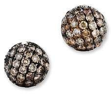 Bloomingdale's Brown Diamond Stud Earrings in 14K Yellow Gold, .85 ct. t.w.