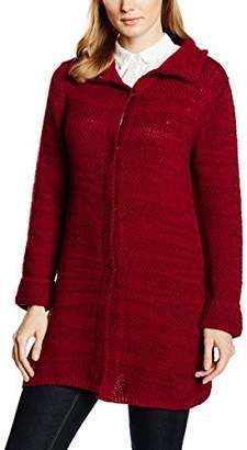 Olsen Women's Cardigan Long Sleeves (Red Maple)