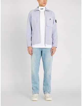 Stone Island Brushed cotton twill jacket