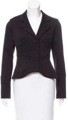 Robert Rodriguez Notch-Lapel Long Sleeve Jacket