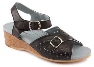 David Tate Britta Wedge Sandal