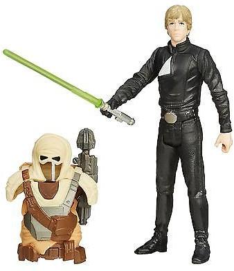 "Star Wars Return Of The Jedi 3.75"" Desert Mission Armor Luke Skywalker Jedi"
