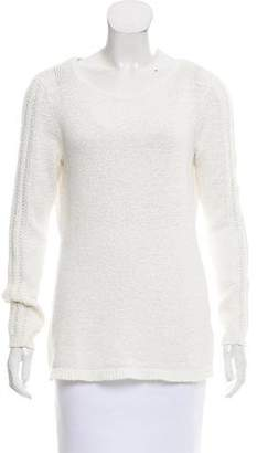 Rachel Zoe Crew Neck Long Sleeve Sweater