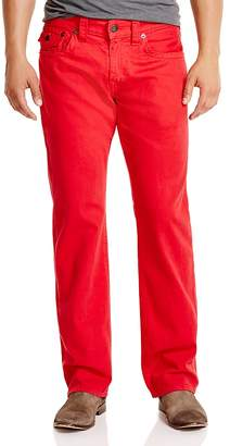True Religion Ricky Relaxed Fit Jeans in True Red