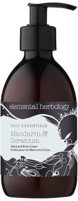 Mandarin and Geranium Hand and Body Cream 300ml